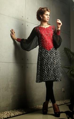 Designer Anam Akhlaq Eid Collection 2014