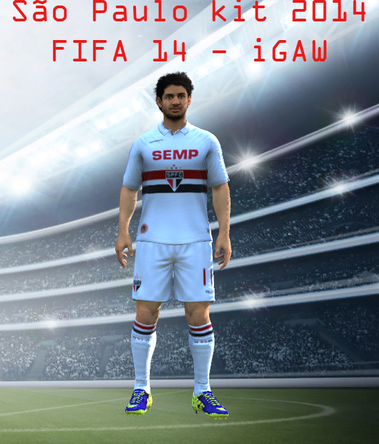 Fifa 14 Hungary Home: [FIFA 14 PC] Home Kit São Paulo FC