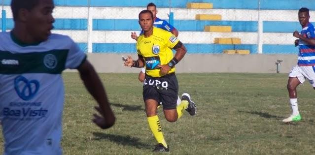Diego Fernando será o árbitro para América x Pesqueira