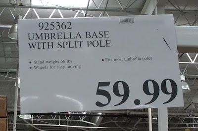 Deal for the Sungrade Umbrella Stand at Costco