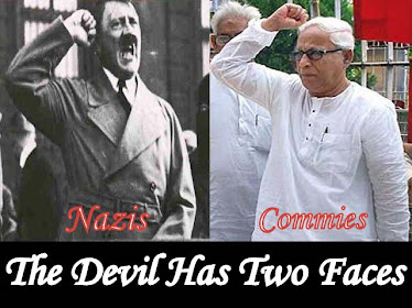 THE DEVIL HAS TWO FACES... NAZIS & COMMUNISTS