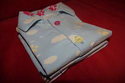 Piżamka falnelowa