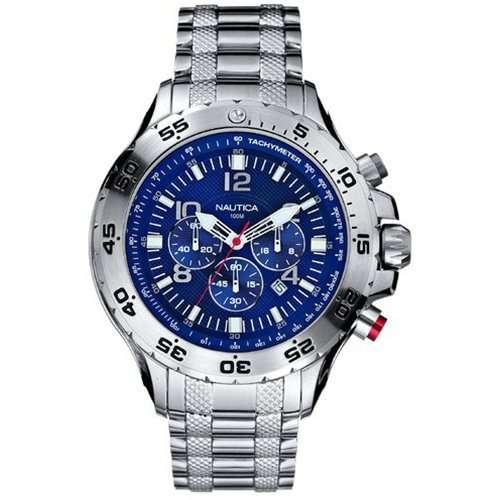 Nautica Men's N19509G NST Chronograph Watch