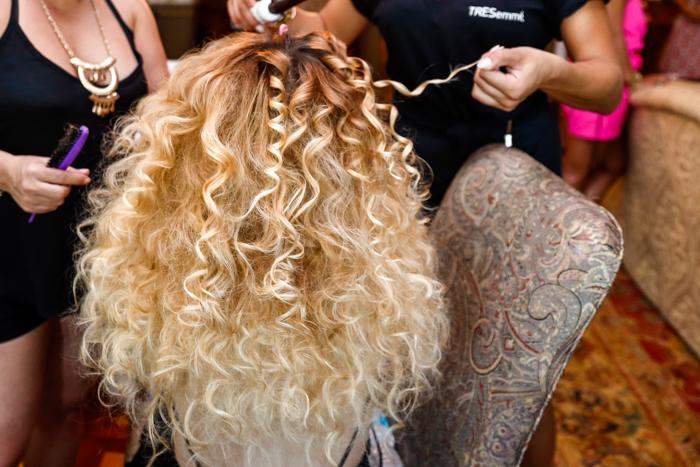 MARA HOFFMAN TRESEMME BACKSTAGE HAIR 2016
