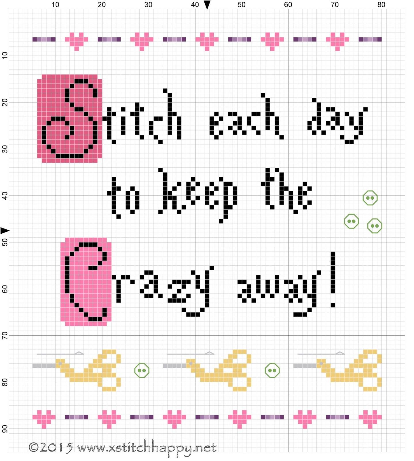 Cross Stitch Chart Because Nice Matters La-D-Da