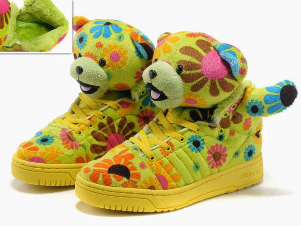 Jeremy Scott Teddy Bear sneakers