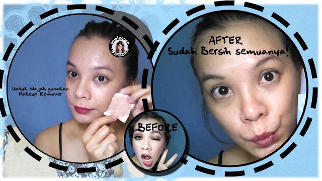 Menggunakan WARDAH Makeup Remove