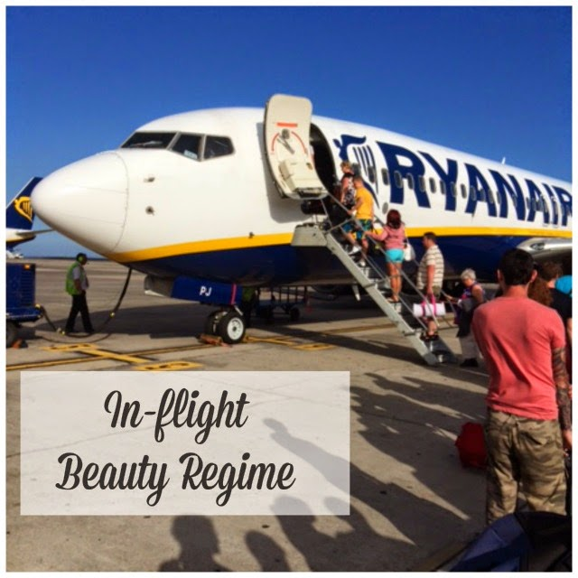 Airplane In-flight Beauty Tips and Routine