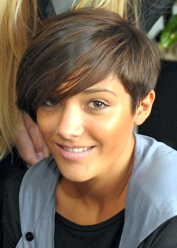 Frankie Sandford Hairstyle Back View