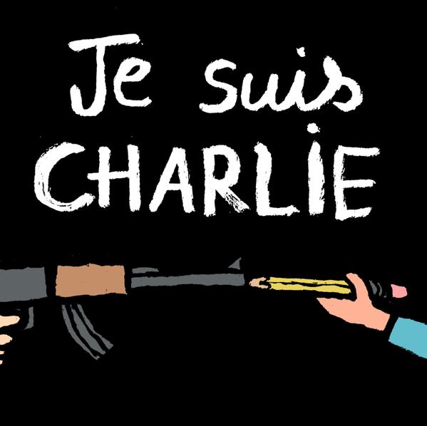 """""""Prefiro morrer de pé, do que viver de joelhos""""Charb"""