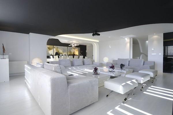 Hogares Frescos Arquitectura Interior De Casa Minimalista