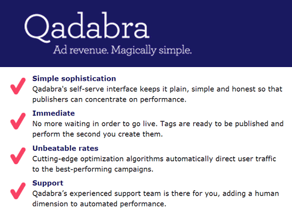 Qadabra: Start Earning Good Revenue