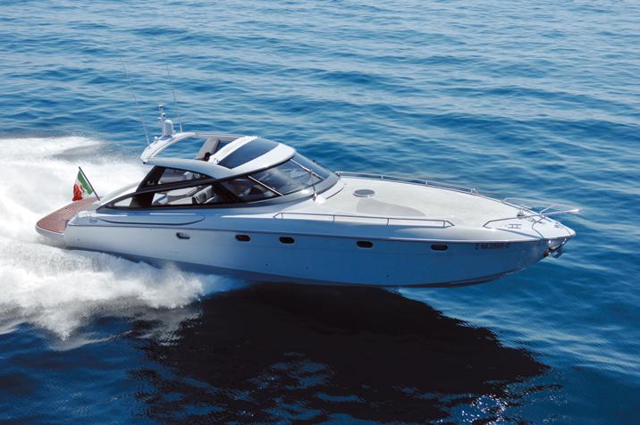 Baia Flash 48. Builder: Baia Yacht Loa: 48.3` Beam: 13.5`
