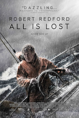 All is Lost Robert Redford Poster