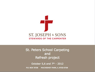 St. Peters School Carpenting & Refresh