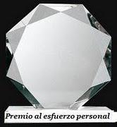 PREMIO ESFUERZO PERSONAL