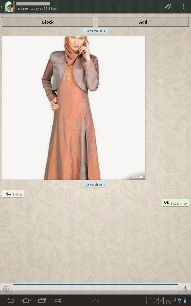 Tempah Baju Fesyen