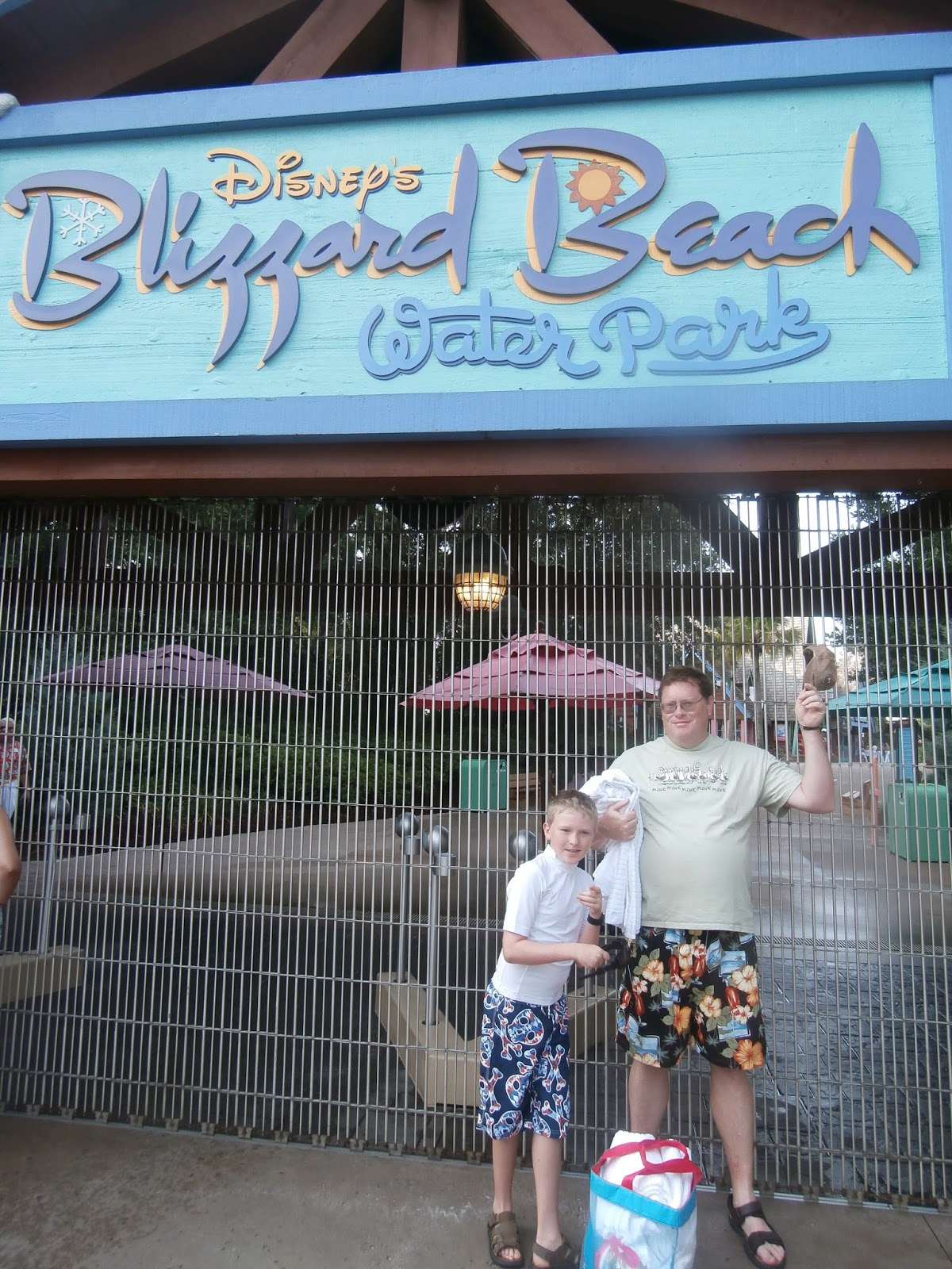 Williams Family Disney S Blizzard Beach Water Park