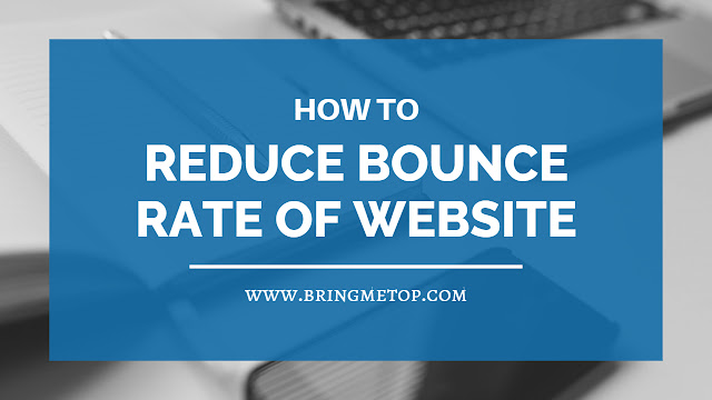 how to reduce bounce rate of website