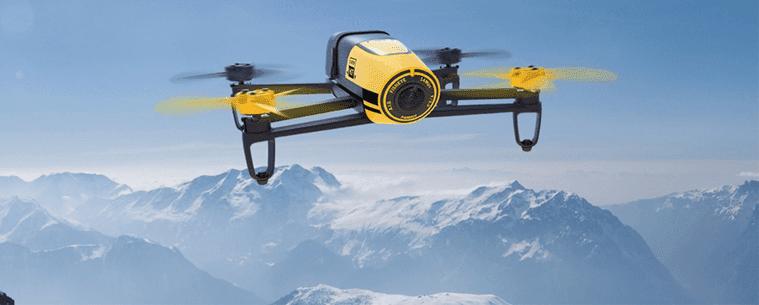 طائرة Bebop Drone بدون طيار بسعر 500$ بمواصفات و قدرات مذهلة + استعراض لها