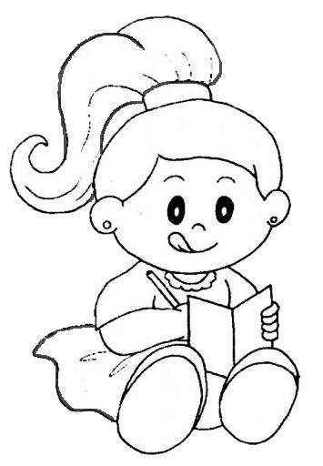 Estudando Desenhos Para Colorir Do Dia Das Criancas Imagens Imprimir E