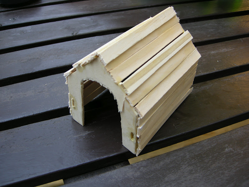 Any How Town Building A Popsicle Stick Doghouse