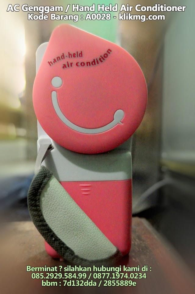 AC Genggam / Hand Held Air Conditioner - Kode Barang : A0028 - Personal Evaporative Cooling Fan (AC Hemat listrik 5VDC)