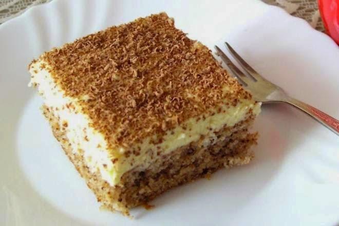 """""""ČUDO OD JEDNOG JAJETA"""": Jednostavan i fin kolač, idealan za iznenadne goste ..."""