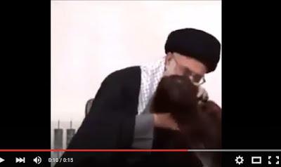 Astaghfirullah, Khamenei Berbuat Cabul Kepada Anak Kecil Didepan Publik (Video 18+)