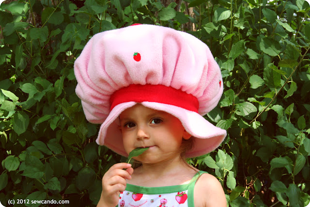 Sew Can Do: Vintage Inspired Crafts: Lil Strawberry Shortcake Hat ...