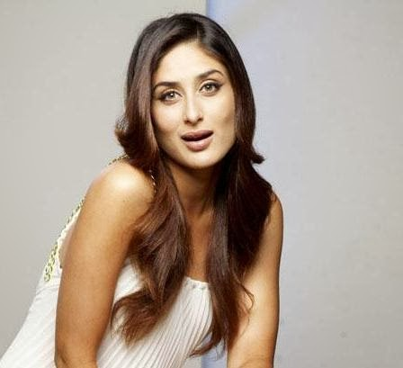 Kareena Kapoor in white top white bra skin colour ,hairs on underarms visible stinky