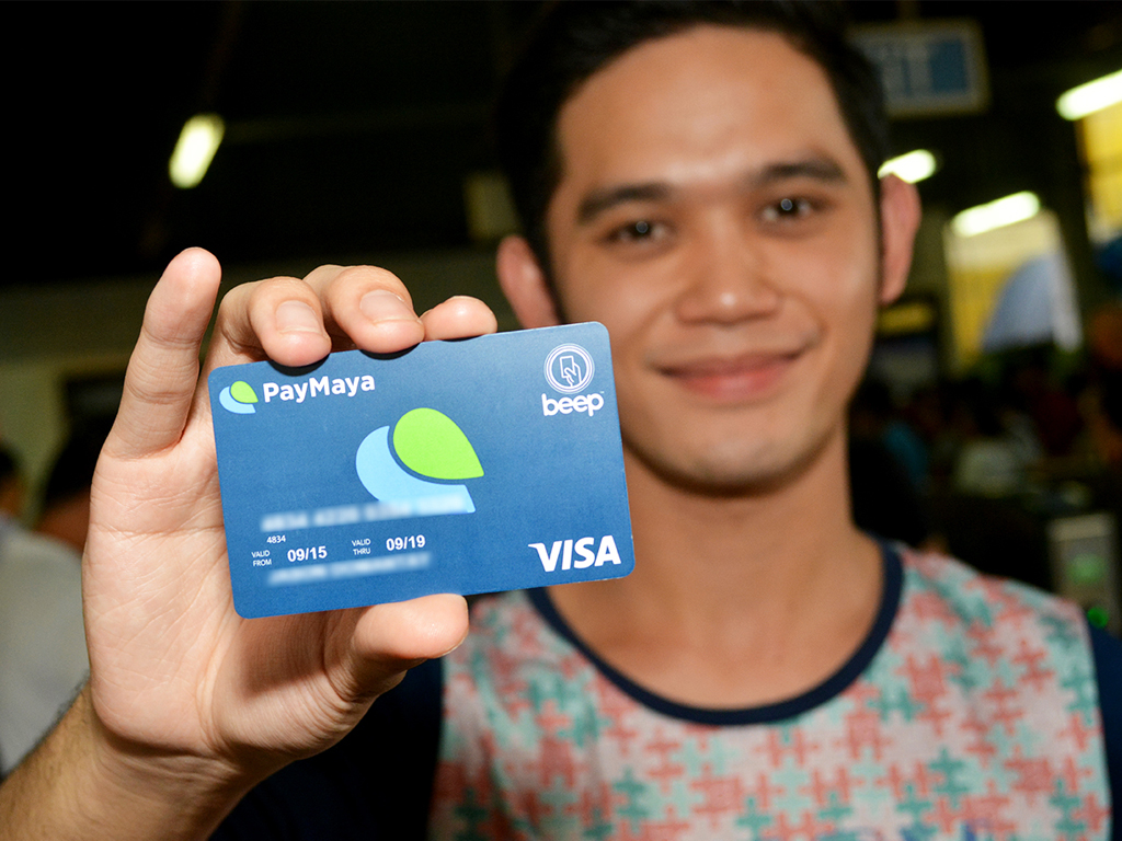 PayMaya Visa Card with Beep