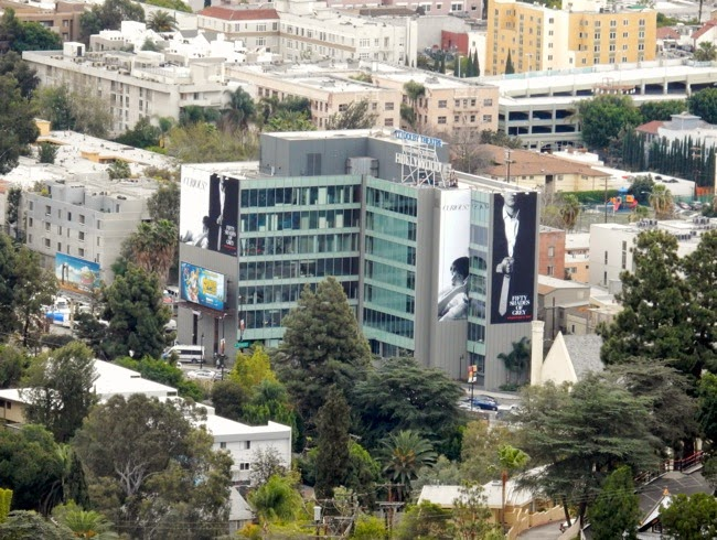 Giant Fifty Shades of Grey movie billboards