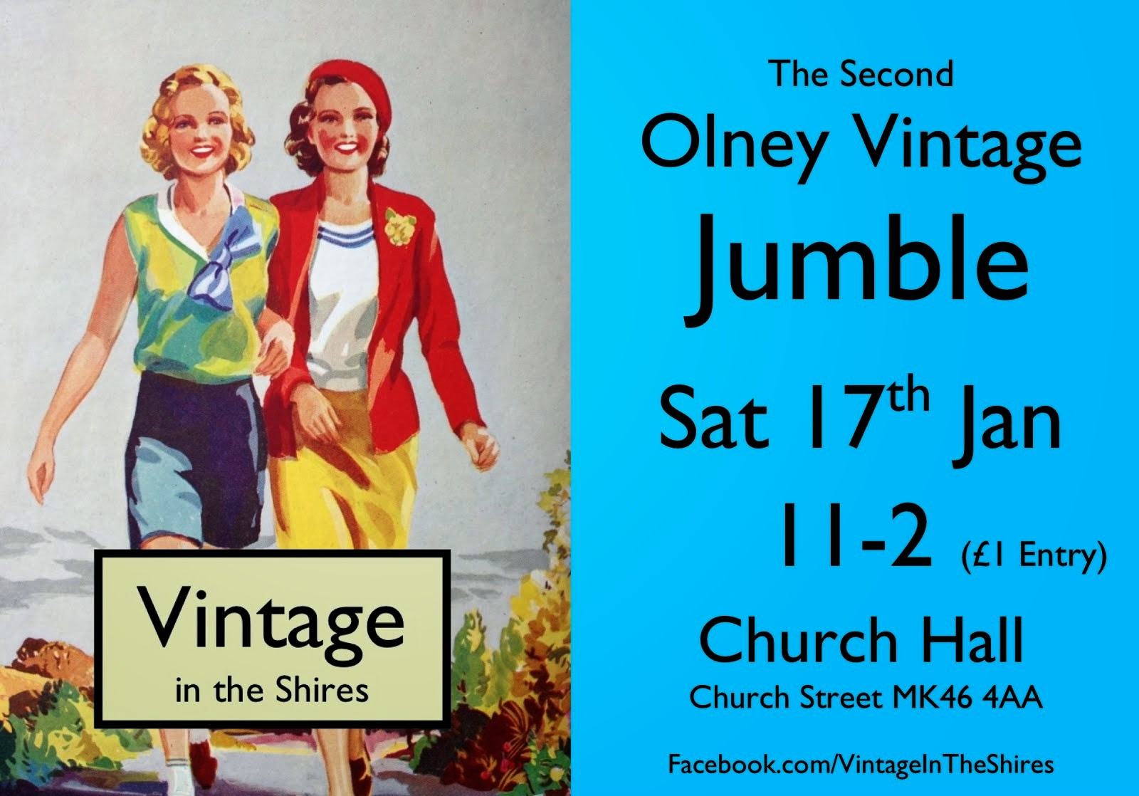 The Second Olney Vintage Jumble