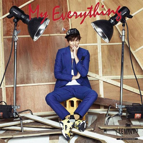 Lee Min Ho Album - My Everything