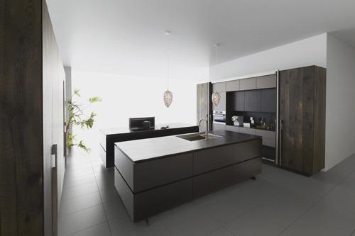 Wonenonline japans minimalisme in de keuken met dekton - Keuken minimalistisch design ...