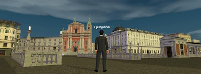 Waamy social game 3D Lubiana