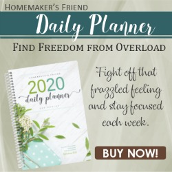 THE NEW HOMEMAKER'S PLANNER 202O!
