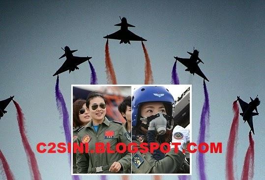 4 Gambar Juruterbang Wanita PLA jadi tumpuan Janji aksi terbaik di Langkawi