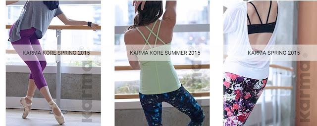 Karma brand yoga clothes