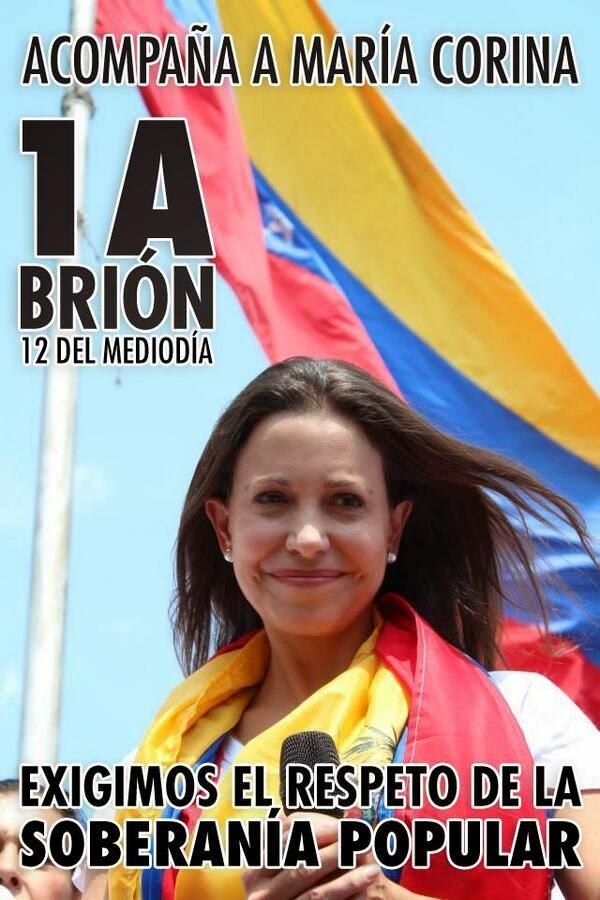1ro de abril: Día decisivo en la lucha de los democratas venezolanos por la libertad.