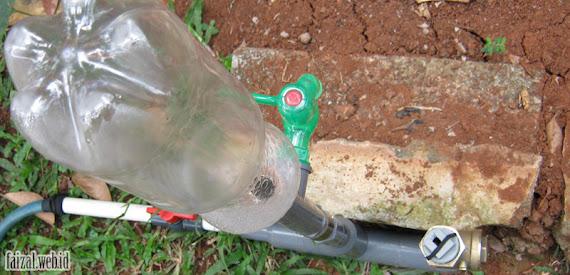 Hydram Botol Plastik dan Klep Tabo