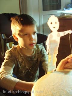 кукла для театра теней