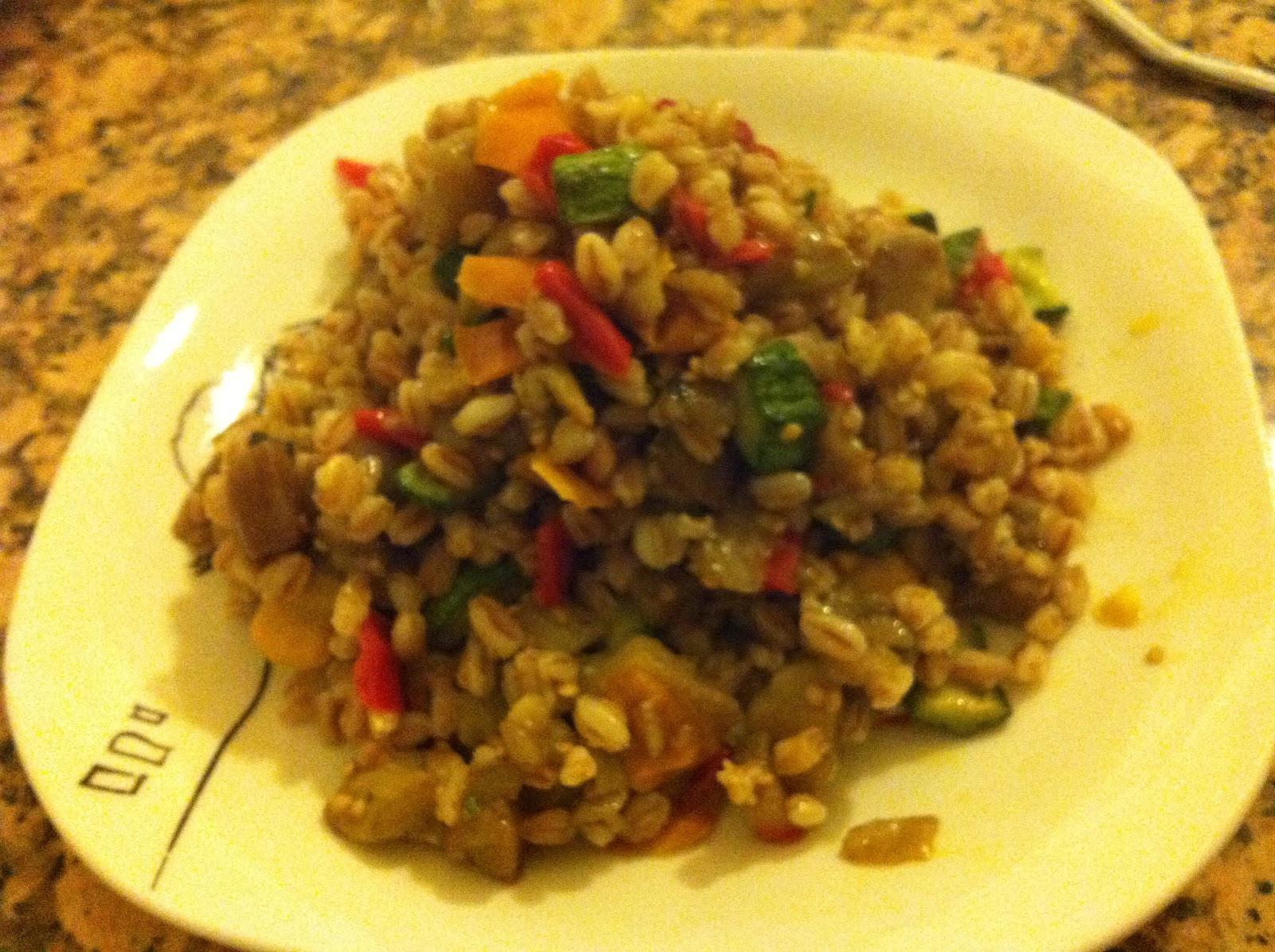 Le ricette di zia cli farro alle verdure for Ricette degli antichi romani