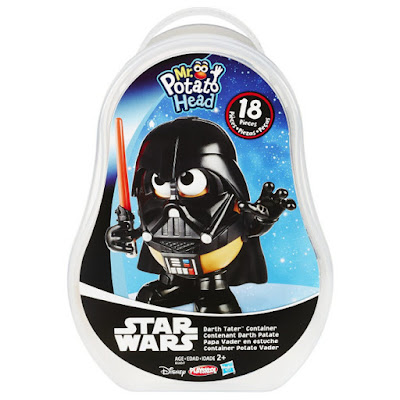 JUGUETES - PLAYSKOOL  Mr. Potato - Papa Vader en estuche   Mr. Potato Head - Darth Tater Container  Producto Oficial Disney 2015 | Hasbro B1657 |  A partir de 2 años  Comprar en Amazon