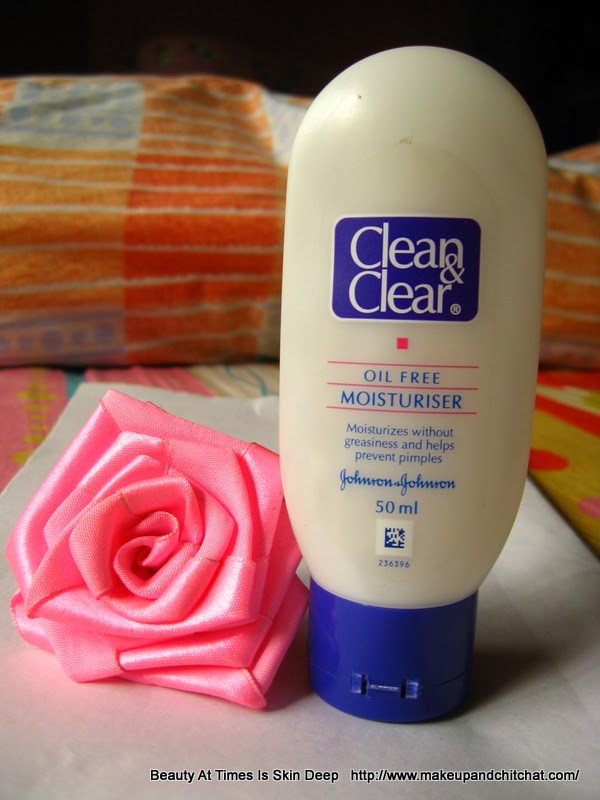 Review of Clean and Clear Skin Balancing Moisturizer with salicylic acid| salicylic acid moisturizer for acne-prone skin