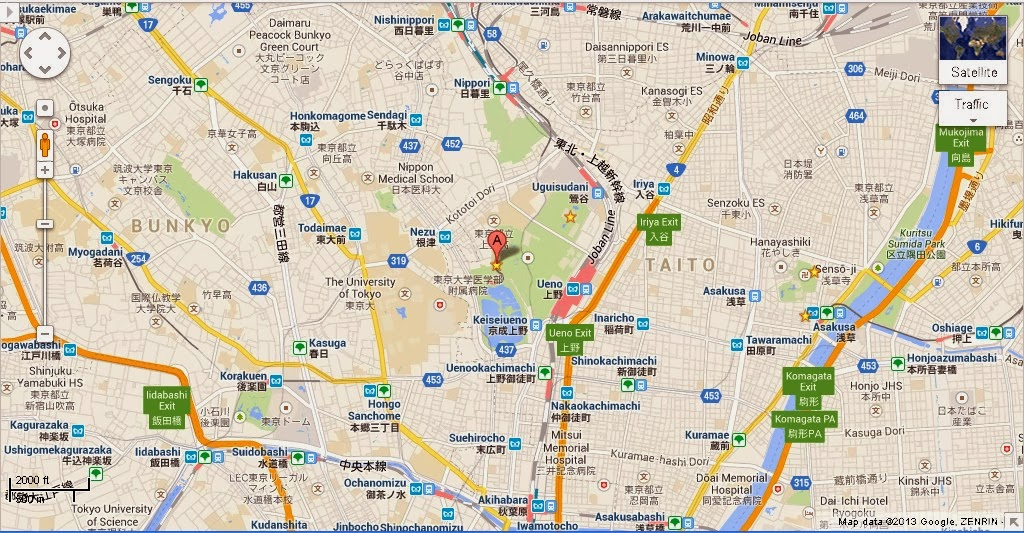 Zoo Map Template Ueno Zoo Tokyo Location Map