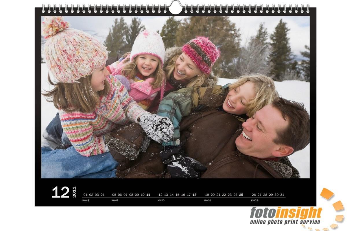 Der Fotokalender ist eines der beliebtesten Weihnachtsgeschenke Österreichs