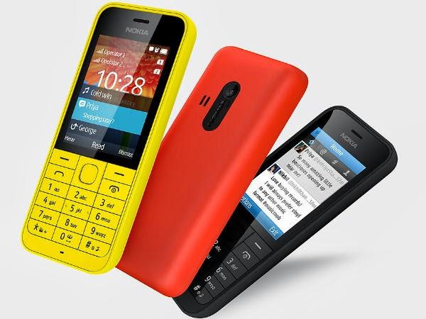 Ponsel Nokia Asha 220