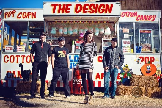 The Design: indie rockers rom Raleigh, NC, US played in E104 and E114 of the ArenaCast